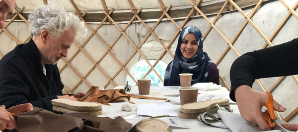 Juta Shoes, Shoe Making Workshops at Spitalfields City Farm