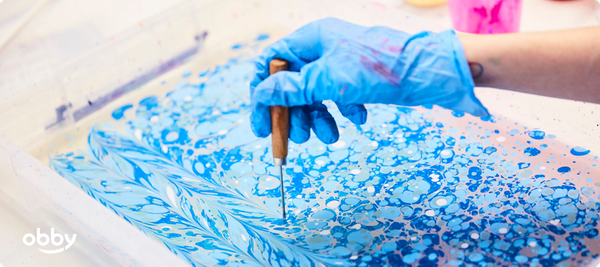 The Papercrafts Guide - Papermarbling
